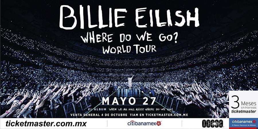 Palacio de los Deportes Billie Eilish
